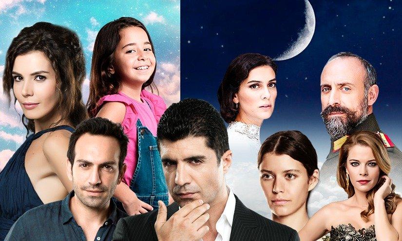 portada de series y tipos de novelas turcas